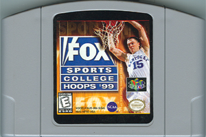 Fox Sports College Hoops '99 (USA) Cart Scan